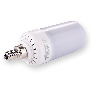 1szt 5W 500 lm E27 E26 E12 Żarówki LED kulki T 160 Diody lED SMD 2835 Przysłonięcia Ciepła biel Zimna biel Naturalna biel AC110
