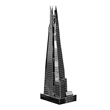Παζλ 3D Παζλ Μεταλλικά παζλ Kit de Construit Παιχνίδια Διάσημο κτίριο Αρχιτεκτονική 3D Φτιάξτο Μόνος Σου Μεταλλικό Παιδικά Κομμάτια