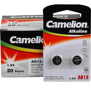 Camelion AG13 bateria alkaliczna przycisk coin cell 1.5V 40 sztuk