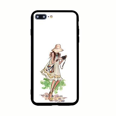 Kılıf Na Apple Wzór Etui na tył Seksowna dziewczyna Twarde Akrylowy na iPhone 7 Plus iPhone 7 iPhone 6s Plus iPhone 6 Plus iPhone 6s