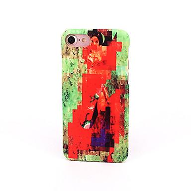Kılıf Na Apple Szron Wytłaczany wzór Wzór Etui na tył Przejście kolorów Twarde PC na iPhone 7 Plus iPhone 7 iPhone 6s Plus iPhone 6 Plus