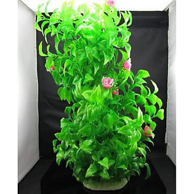 Dekoracja Aquarium Roślina wodna Nietoksyczne i bez smaku Plastikowy