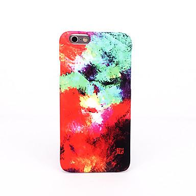 Etui Käyttötarkoitus Apple Himmeä Koristeltu Kuvio Takakuori Color Gradient Kova PC varten iPhone 7 Plus iPhone 7 iPhone 6s Plus iPhone 6