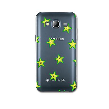 tok Για Samsung Galaxy J7 (2016) J5 (2016) Εξαιρετικά λεπτή Με σχέδια Πίσω Κάλυμμα Γεωμετρικά σχήματα Μαλακή TPU για J7 (2016) J5 (2016)