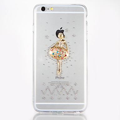 Na Stras DIY Kılıf Etui na tył Kılıf Seksowna dziewczyna Twarde Akrylowy na AppleiPhone 7 Plus iPhone 7 iPhone 6s Plus iPhone 6 Plus