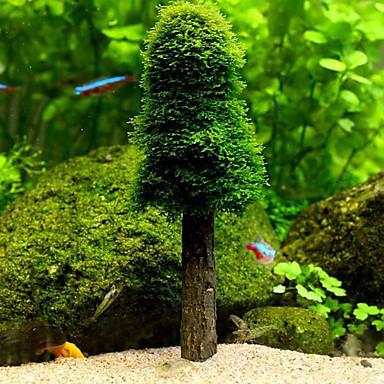 Διακόσμηση Ενυδρείου Υδρόβιο φυτό Μη τοξικό και χωρίς γεύση Πλαστική ύλη
