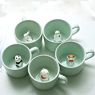 Κινούμενα σχέδια Ποτήρια, 150 ml Διακοσμητικό φίλη δώρο Κεραμικό Χυμός Γάλα Κούπες Καφέ