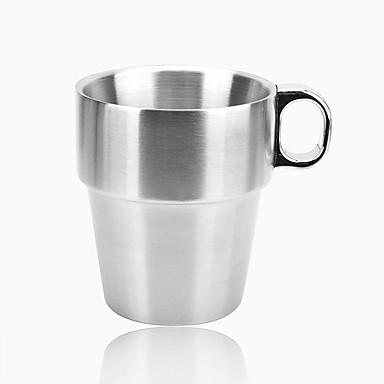 Bardak Takımı, 300 Paslanmaz Çelik Çay Meyve suyu Kahve Kupaları