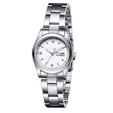 Moda Saat İsviçre Tasarımcı Quartz Alaşım Bant İhtişam Beyaz