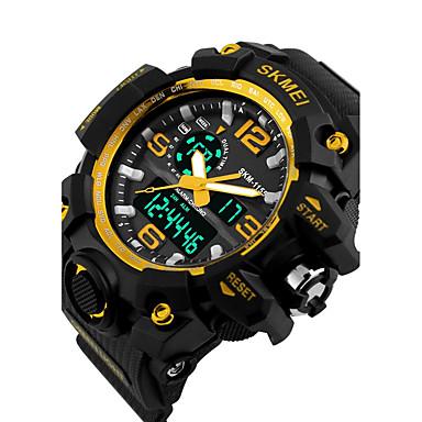 Bărbați Ceas Sport Ceas Elegant Ceas Schelet Ceas La Modă Ceas de Mână Ceas digital Quartz Piloane de Menținut Carnea Silicon Bandă Charm