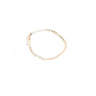 Naszyjniki choker Biżuteria Stop Modny Postarzane euroamerykańskiej minimalistyczny styl Osobiste Europejski Gold Silver Biżuteria Na