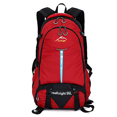 55 L Rucsac Camping & Drumeții Alpinism Sporturi de Agrement Impermeabil Rezistent la Praf Respirabil Multifunctional