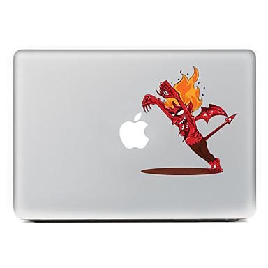 1 piesă Acțibilduri pentru Rezistent la Zgârieturi Desene Animate Model PVC MacBook Pro 15'' with Retina MacBook Pro 15 '' MacBook Pro