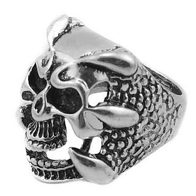billige Damesmykker-Ringer Daglig Avslappet Smykker Legering Ring 1 stk,18 19 20 21 Sølv