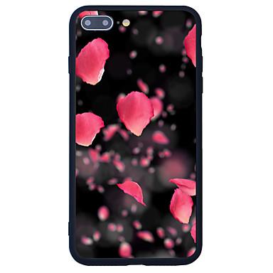 Etui Käyttötarkoitus Apple Kuvio Takakuori Kukka Kova Akryyli varten iPhone 7 Plus iPhone 7 iPhone 6s Plus iPhone 6s iPhone SE/5s