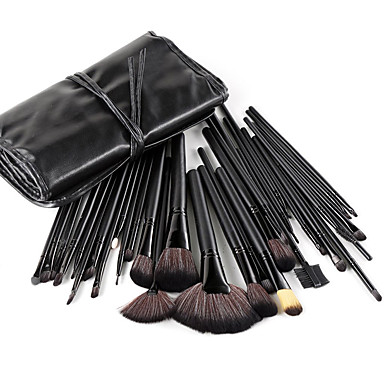 32pcs Makyaj fırçaları Profesyonel Fırça Setleri Naylon Fırça / Sentetik Saç / Suni Fibre Fırça Büyük Fırça / Orta Fırça / Küçük Fırça