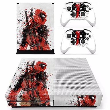levne Příslušenství k videohrám-B-SKIN XBOX ONE  S PS / 2 Nálepka Pro Xbox One S ,  Zábavné Nálepka PVC 1 pcs jednotka