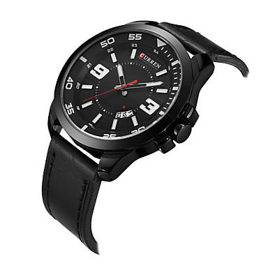 Bărbați ceas mecanic Ceas de Mână Ceas Schelet Ceas Elegant  Ceas La Modă Ceas Sport Quartz cald Vânzare Piele Autentică Bandă Charm