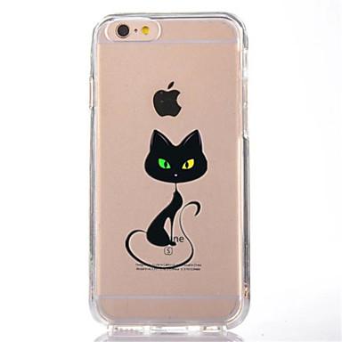 Maska Pentru Apple iPhone 7 Plus iPhone 7 Transparent Model Capac Spate Pisica Moale TPU pentru iPhone 7 Plus iPhone 7 iPhone 6s Plus