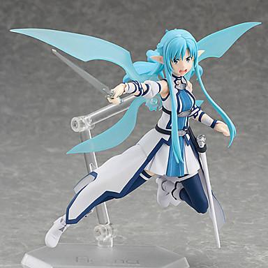 Rysunki Anime akcji Zainspirowany przez Sword Art Online Cosplay PVC 15cm CM Klocki Lalka Zabawka