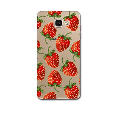 Για Εξαιρετικά λεπτή Με σχέδια tok Πίσω Κάλυμμα tok Φρούτα Μαλακή TPU για Samsung A7(2016) A5(2016)