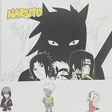 Więcej akcesoriów Zainspirowany przez One Piece Naruto Uzumaki Papierowy 208*142*12 CM Klocki Lalka Zabawka