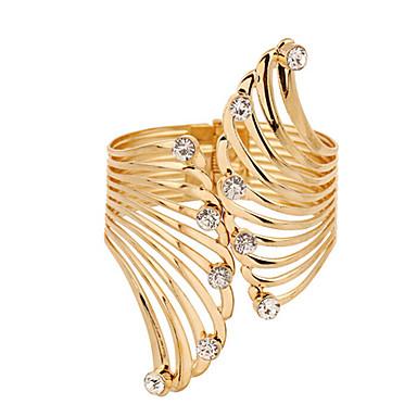 Pentru femei Placat Auriu Brățări Bantă Brățară - Modă Auriu Brățări Pentru Cadouri de Crăciun Nuntă Petrecere Ocazie specială Zi de