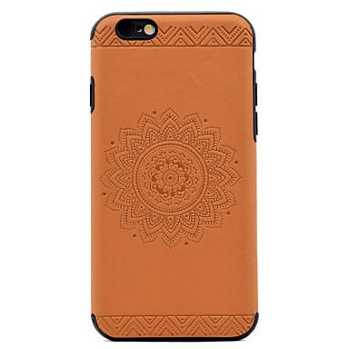 غطاء من أجل Apple مطرز نموذج غطاء خلفي ماندالا نمط ناعم جلد اصطناعي إلى فون 7 زائد فون 7 iPhone 6s Plus iPhone 6 Plus iPhone 6s أيفون 6