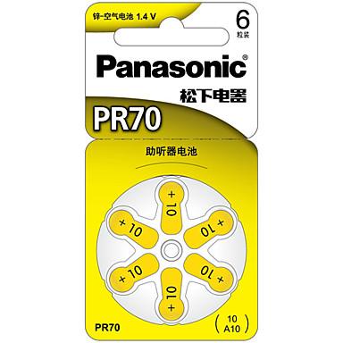Panasonic PR-70ch nappiparistolla litium-akku 3v 6 kpl