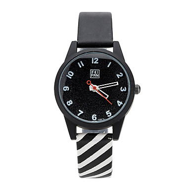 Kadın's Moda Saat Bilek Saati Quartz Renkli Alaşım Bant Günlük Siyah Beyaz Pembe