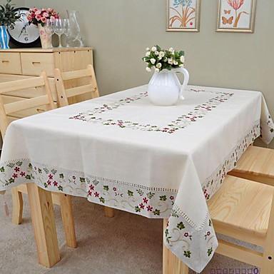 Lenjerie Dreptunghiular Fețe de masă Floral Decoratiuni de tabla