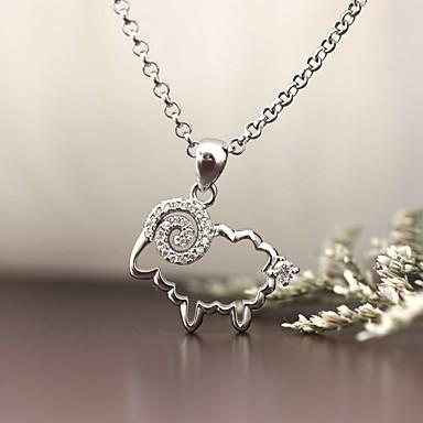 تعليقات فضة الاسترليني تقليد الماس تصميم بسيط تصميم الحيوانات المجوهرات الفاخرة مجوهرات إلى يوميا فضفاض 1PC