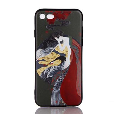Için Ultra İnce Süslü Temalı Pouzdro Arka Kılıf Pouzdro Seksi Kadın Yumuşak TPU için AppleiPhone 7 Plus iPhone 7 iPhone 6s Plus/6 Plus