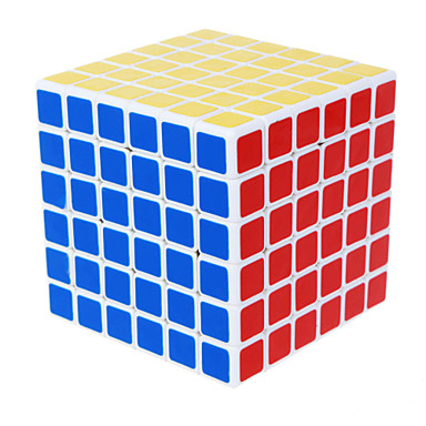 Rubikin kuutio Tasainen nopeus Cube 6*6*6 Sileä tarra Nopeus Professional Level säädettävä jousi Rubikin kuutio Lahja