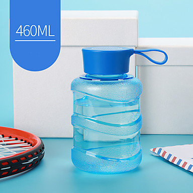 Transparent Urheilu Juomalasit, 460 ml Vuotamaton BPA: ta Muovi Mehu Vesipullot