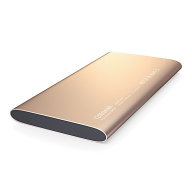 Zewnętrzna bateria power banku 5vv 2.4a #a ładowarka wielokrotnego ładowania qc 2.0 super slim led