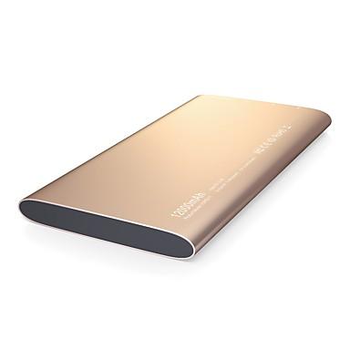 güç banka harici pil 5VV 2.4A #A Pil Şarj Cihazı Çok-Çıkışlı QC 2.0 Süper İnce LED