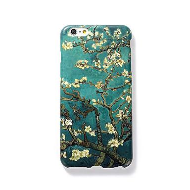 Pouzdro Uyumluluk Apple iPhone 7 Plus iPhone 7 Buzlu Temalı Süslü Arka Kapak ağaç Sert PC için iPhone 7 Plus iPhone 7 iPhone 6s Plus