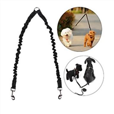 Σκύλος Λουριά Hands Free λουρί Προσαρμόσιμη / Τηλεσκοπικό Αντανακλαστικό Ασφάλεια Τρέξιμο Μονόχρωμο Νάιλον Μαύρο Κόκκινο Μπλε