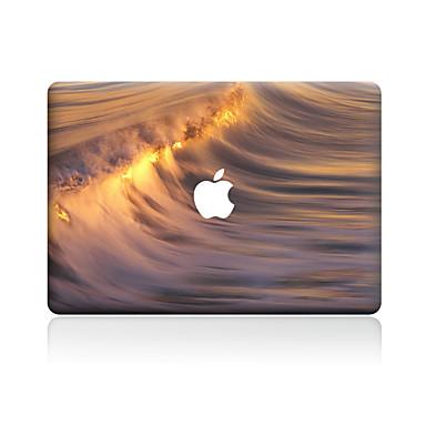 1 piesă Rezistent la Zgârieturi Decor Plastic Transparent Autocolant Corp Model PentruMacBook Pro 15'' with Retina MacBook Pro 15 ''