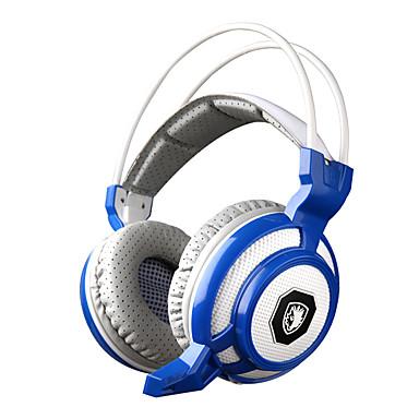 sades sa-905 λειτουργία δόνησης βαθιά μπάσα fone de ouvido υπέρ ακουστικά gaming 7 χρώμα οδήγησε το παιχνίδι ακουστικά με μικρόφωνο για PC