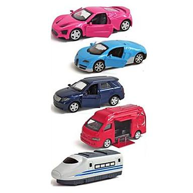 Oyuncak Arabalar araç Playsets Yarış Arabası Polis Arabası Oyuncaklar Simülasyon Araba Metal Alaşımlı Plastik Demir Metal Klasik &