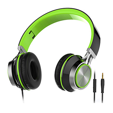 KEEKA Y-4 سماعات (الرأس)Forمشغل وسائل الاعلام / لوحي الهاتف المحمول الكمبيوترWithمع ميكريفون DJ التحكم في ارتفاع الصوت راديو FM الألعاب