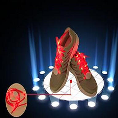 LED Κορδόνι Παπουτσιού Μπαταρία