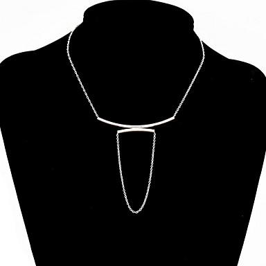 Naisten Riipus-kaulakorut Korut Korut Gem Metalliseos Muoti Personoitu Euramerican minimalistisesta Eurooppalainen Korut Käyttötarkoitus