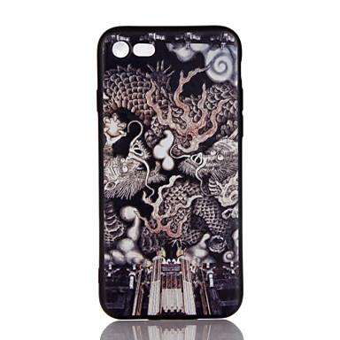 Για Εξαιρετικά λεπτή Ανάγλυφη Με σχέδια tok Πίσω Κάλυμμα tok Ζώο Μαλακή TPU για AppleiPhone 7 Plus iPhone 7 iPhone 6s Plus/6 Plus iPhone