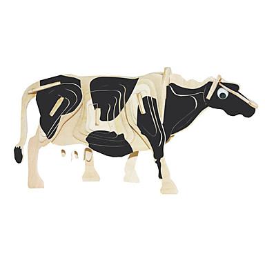 تركيب خشبي ثور Cow المستوى المهني خشبي 1pcs صبيان هدية