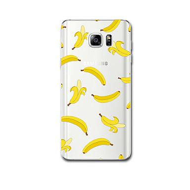 Için Ultra İnce Temalı Pouzdro Arka Kılıf Pouzdro Meyve Yumuşak TPU için Samsung Note 5 Note 4