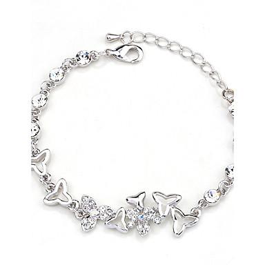 Damskie Bransoletki i łańcuszki na rękę Natura Modny Kryształ Stop Round Shape Biżuteria Na Impreza Zaręczynowy