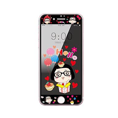 για apple iphone 7 4.7 μετριάζεται προστατευτικό οθόνης από γυαλί με μαλακό άκρο πλήρη κάλυψη της οθόνης μοτίβο μπροστά προστατευτικό
